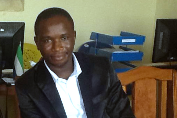 Mr Osman Edward Kargbo