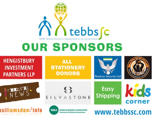 TEBBS SC 2017 Stationery Drive – April updates